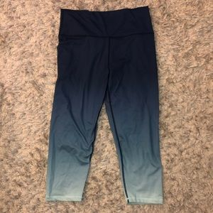 Aerie Ankle Length Ombré Work Out Legging